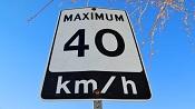 photo: speed limit sign